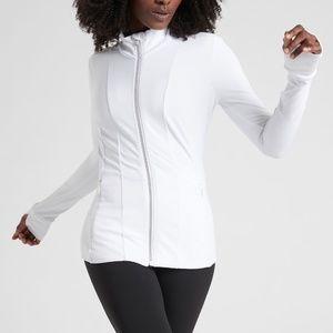 Athlete Shanti Jacket in Powervita White XXS